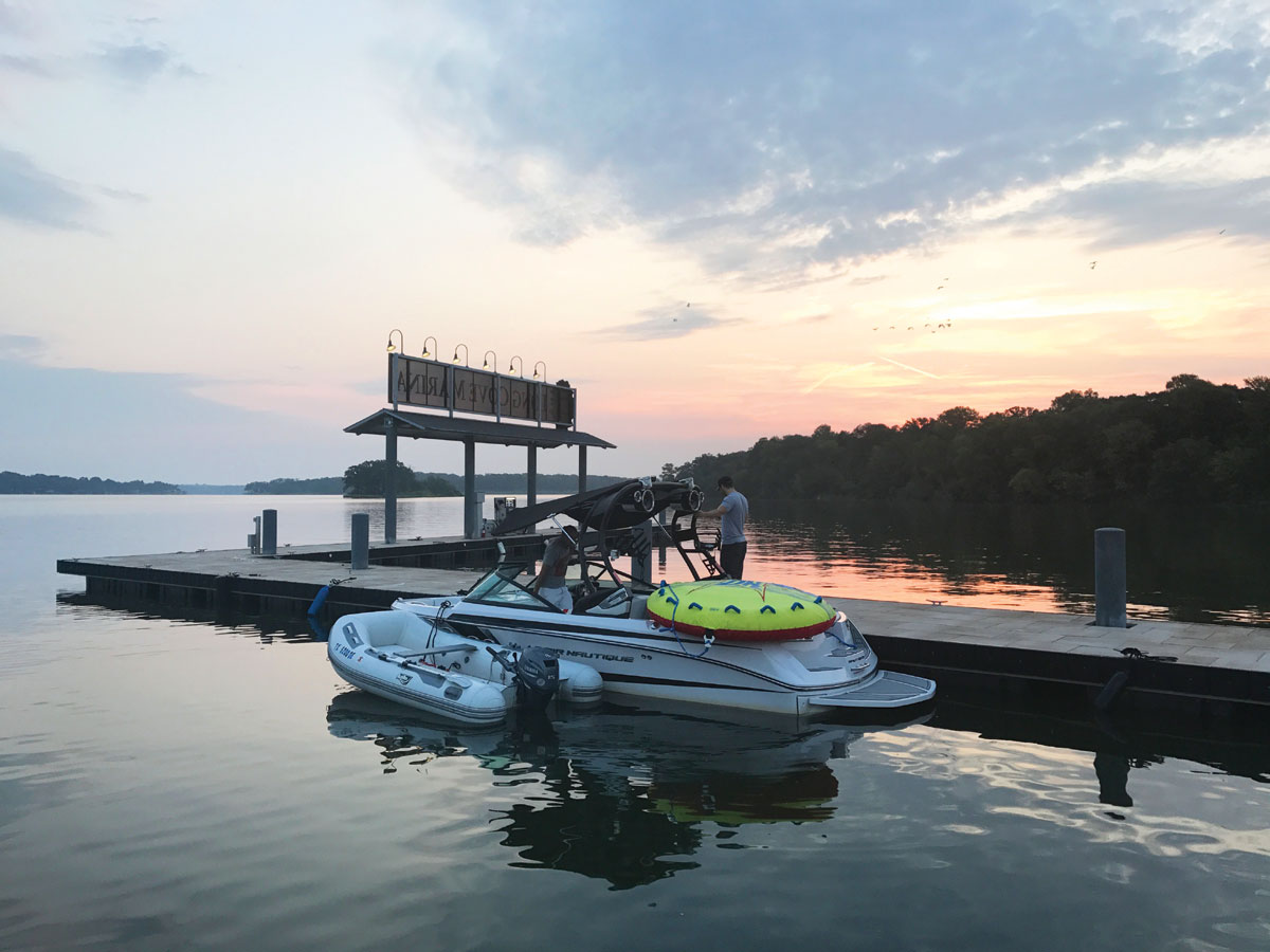 Long Cove Boat Valet at Cedar Creek Lake