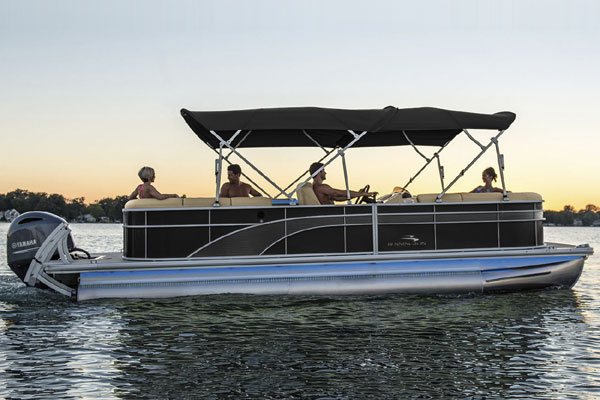 Shared Bennington 23XL Pontoon Boat at Long Cove