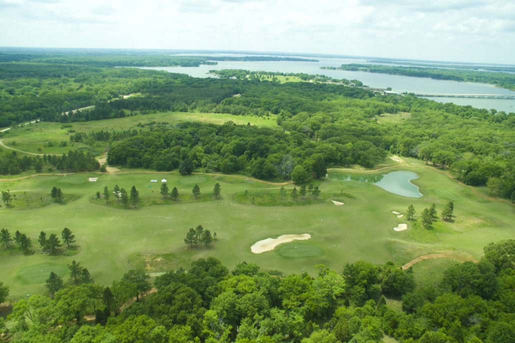 Texas golf course homes